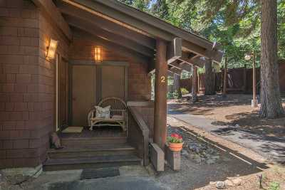 Tahoe City CA Condo/Townhouse For Sale: $1,500,000