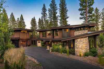 Truckee CA Single Family Home For Sale: $4,395,000