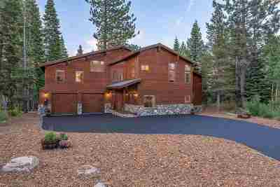 Truckee, Soda Springs, Carnelian Bay, Olympic Valley Single Family Home For Sale: 12251 Bear Meadows Court