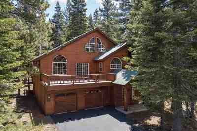 Truckee, Soda Springs, Carnelian Bay, Olympic Valley Single Family Home For Sale: 13145 Ski View Loop