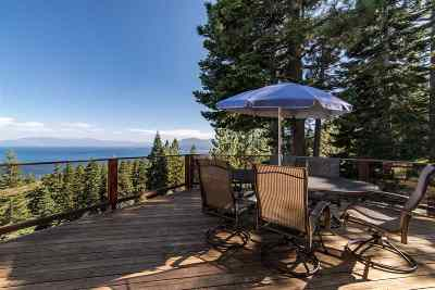 Tahoe City CA Single Family Home For Sale: $1,725,000