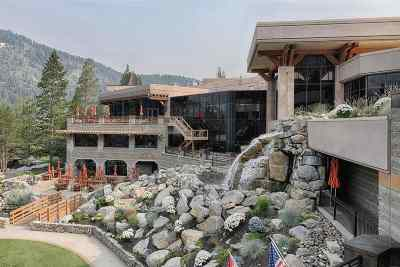 Olympic Valley CA Condo/Townhouse For Sale: $699,000