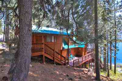 Donner Lake Single Family Home For Sale: 14824 Donner Pass Road