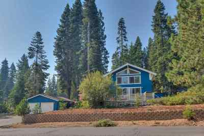 Tahoe City CA Single Family Home For Sale: $799,000