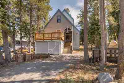Truckee, Soda Springs, Carnelian Bay, Olympic Valley Single Family Home For Sale: 8338 Cascade Road