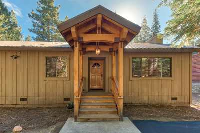 Tahoe Donner Single Family Home For Sale: 14202 Glacier View Road
