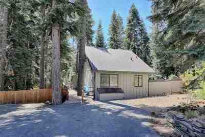 Carnelian Bay CA Single Family Home For Sale: $475,000