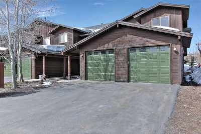Truckee Condo/Townhouse For Sale: 10592 Boulders Road #8