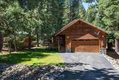 Truckee, Soda Springs, Carnelian Bay, Olympic Valley Single Family Home For Sale: 12364 Saint Bernard Drive