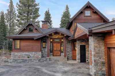 Martis Valley Single Family Home For Sale: 9364 Nine Bark Road