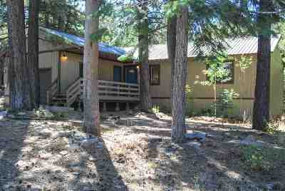 Truckee Single Family Home For Sale: 12540 Hillside Drive