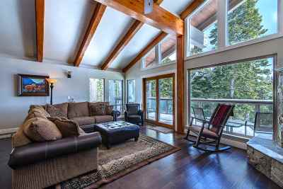 Tahoe City CA Single Family Home For Sale: $859,000