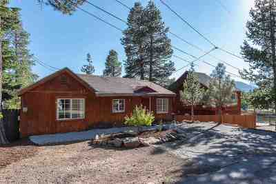 Truckee Single Family Home For Sale: 11481 Glen Road