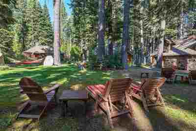 Tahoe City CA Single Family Home For Sale: $9,995,000