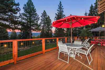 Truckee, Soda Springs, Carnelian Bay, Olympic Valley Single Family Home For Sale: 11335 Skyline Court