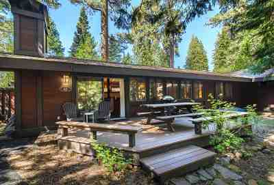 Tahoe City CA Condo/Townhouse For Sale: $585,000
