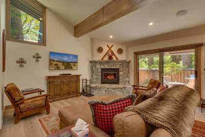 Tahoe City CA Condo/Townhouse For Sale: $985,000