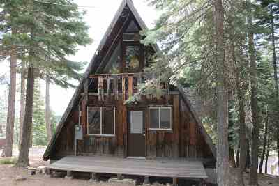 Tahoe City CA Single Family Home For Sale: $550,000