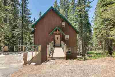 Soda Springs Single Family Home For Sale: 51348 Jeffery Pine Drive