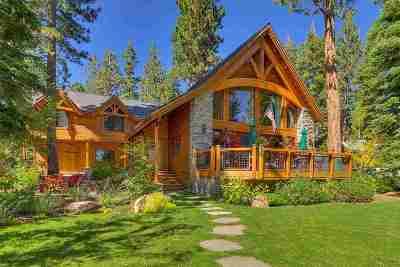 Tahoe City, Tahoe Vista, Carnelian Bay Single Family Home For Sale: 5019 California Street