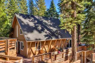 Tahoe City Single Family Home For Sale: 1451 Washoe Way