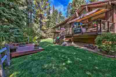 Incline Village Single Family Home For Sale: 955 Fourth Green Drive