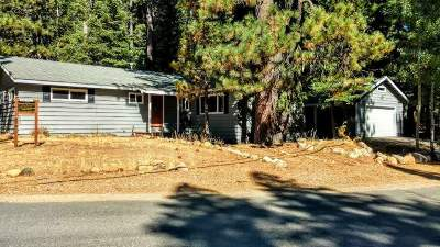 Tahoe City CA Single Family Home For Sale: $679,000