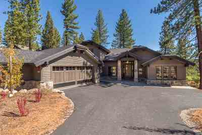 Martis Valley Single Family Home For Sale: 9293 Heartwood Drive