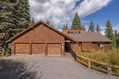 Truckee, Soda Springs, Carnelian Bay, Olympic Valley Single Family Home For Sale: 11881 Skislope Way