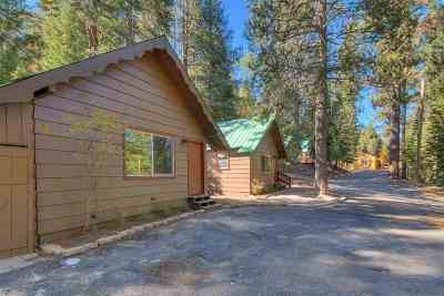 Truckee Single Family Home For Sale: 8755 Montreal Road