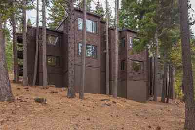 Truckee CA Condo/Townhouse For Sale: $375,000