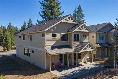 Truckee Condo/Townhouse For Sale: 11285 Wolverine Circle