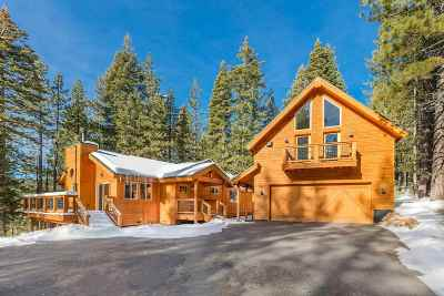 Truckee CA Single Family Home For Sale: $869,000