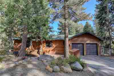 Tahoe City, Tahoe Vista, Carnelian Bay Single Family Home For Sale: 350 Rim Drive