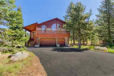 Truckee, Soda Springs, Carnelian Bay, Olympic Valley Single Family Home For Sale: 15071 Skislope Way