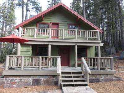 Truckee, Soda Springs, Carnelian Bay, Olympic Valley Single Family Home Contingent: 10109 Bunny Hill Road