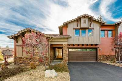 Truckee Condo/Townhouse For Sale: 10281 Badger Lane #A