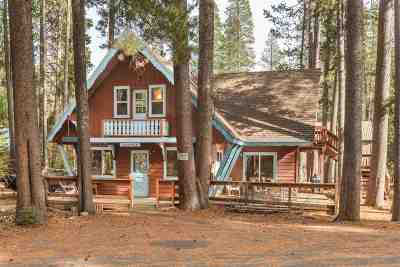Donner Lake Single Family Home For Sale: 10141 W Tamarack Road