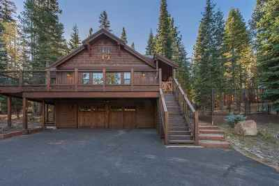 Truckee Single Family Home For Sale: 14153 Swiss Lane