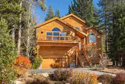 Truckee, Soda Springs, Carnelian Bay, Olympic Valley Single Family Home For Sale: 11517 Bennett Flat Road
