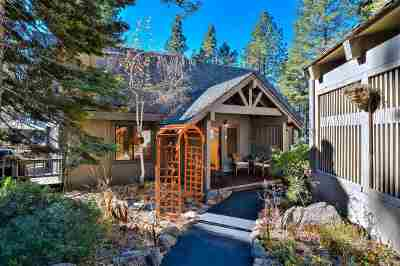 Tahoe City CA Single Family Home For Sale: $1,250,000