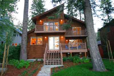 Tahoe Vista CA Single Family Home For Sale: $3,500,000