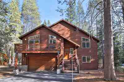 Tahoe Donner Single Family Home For Sale: 11895 Zermatt Drive