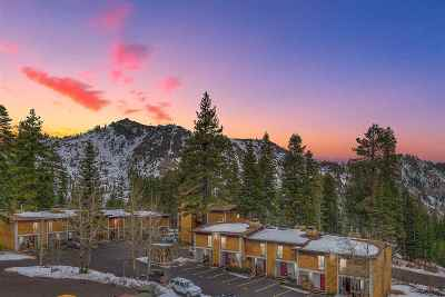 Alpine Meadows Condo/Townhouse For Sale: 2201 Scott Peak Place #28