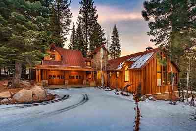Truckee CA Single Family Home For Sale: $3,195,000