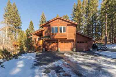Truckee CA Single Family Home For Sale: $1,000,000