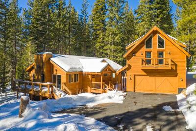 Truckee, Soda Springs, Carnelian Bay, Olympic Valley Single Family Home For Sale: 11502 Chamonix Road