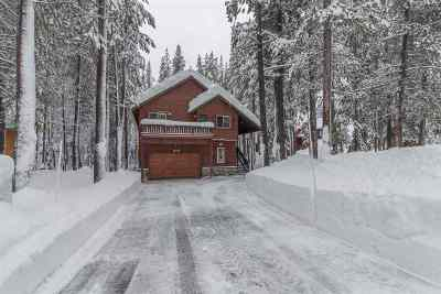 Truckee CA Single Family Home Contingent: $925,000