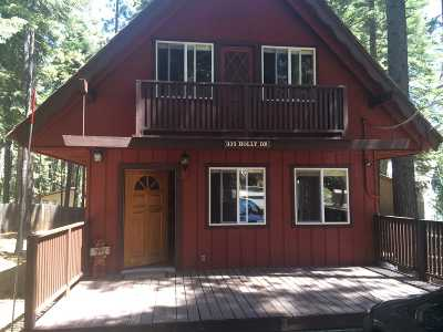 Tahoe City Single Family Home For Sale: 935 Holly Road