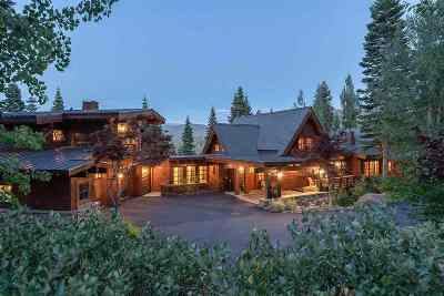 Truckee CA Single Family Home For Sale: $5,195,000